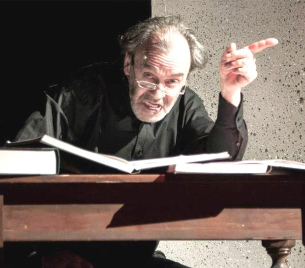Il segreto, spettacolo del Teatro dei Colori con Gabriele Ciaccia